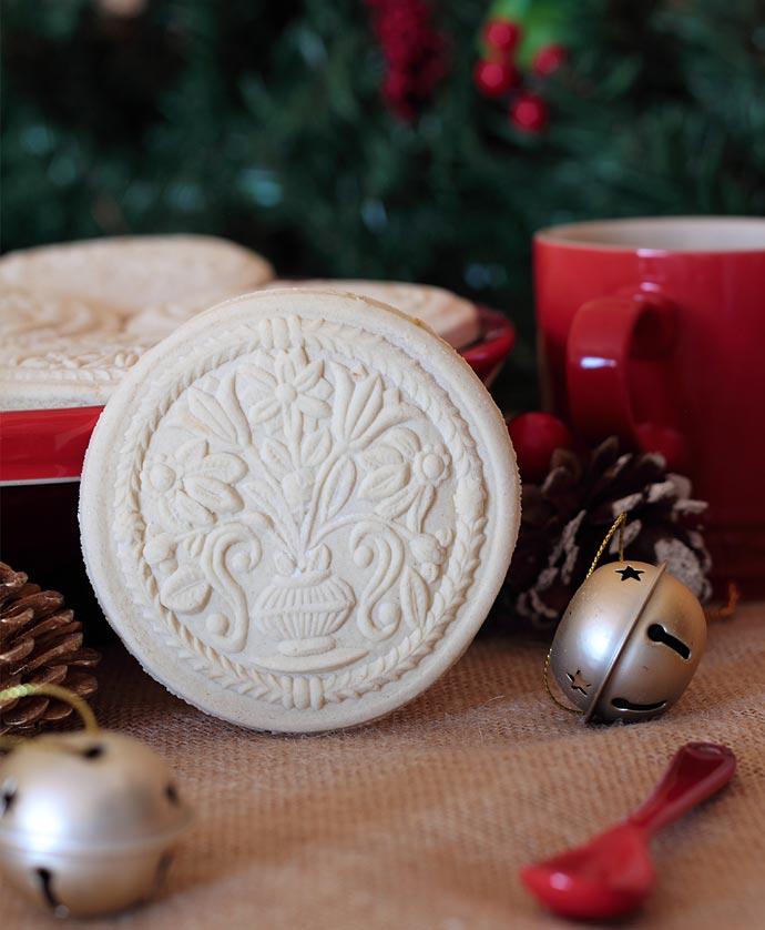 Galletas springerle y Navidad en Alsacia