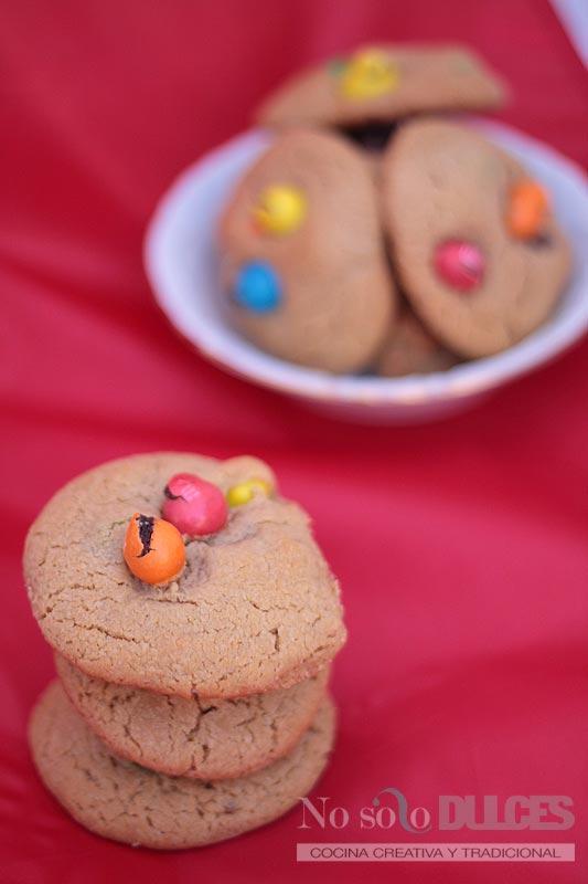 No solo dulces - Galletas de mantequilla de cacahuete y chocolate