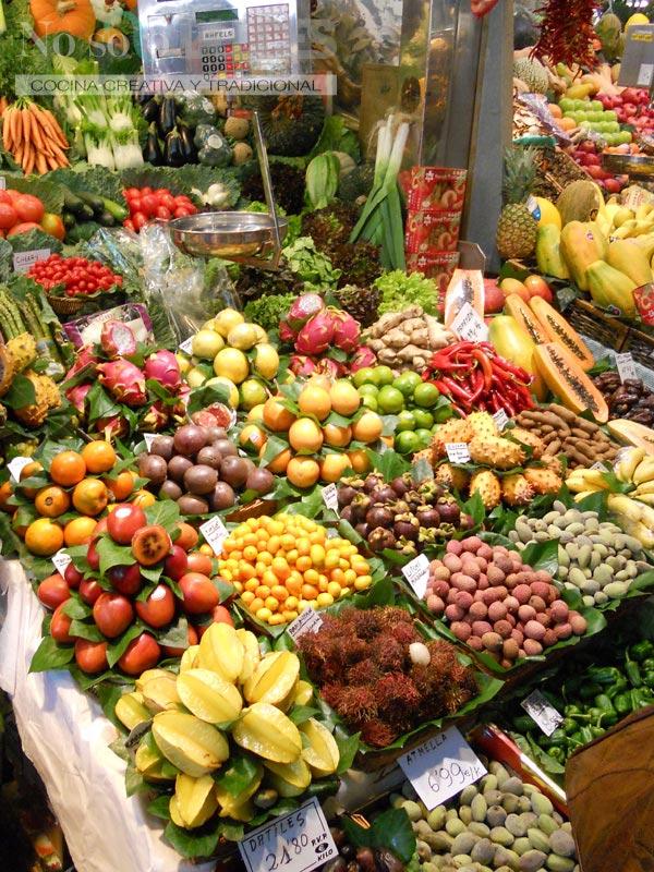 No solo dulces – Mercado de la Boquería