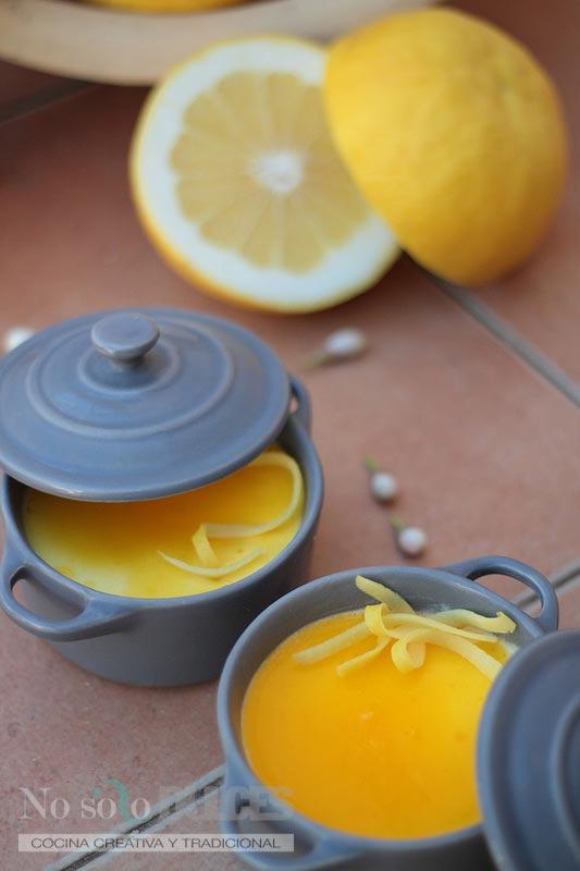 No solo dulces – Mousse de pomelo