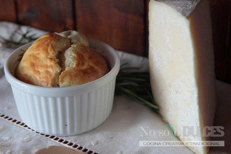 No solo dulces – Souffle de queso gruyere especiado