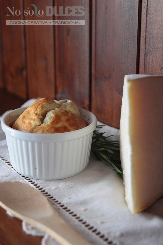 No solo dulces - Souffle de queso gruyere especiado