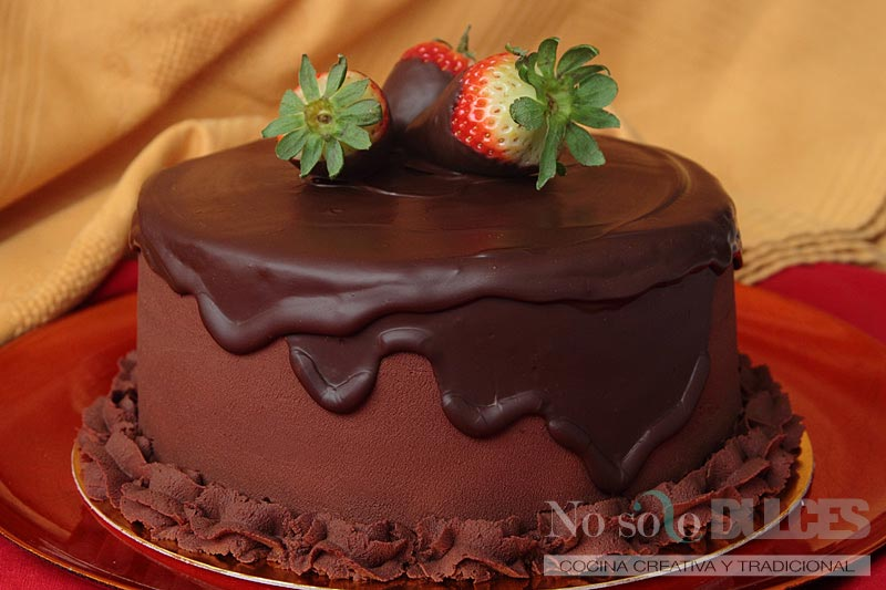 No solo dulces - Tarta de chocolate