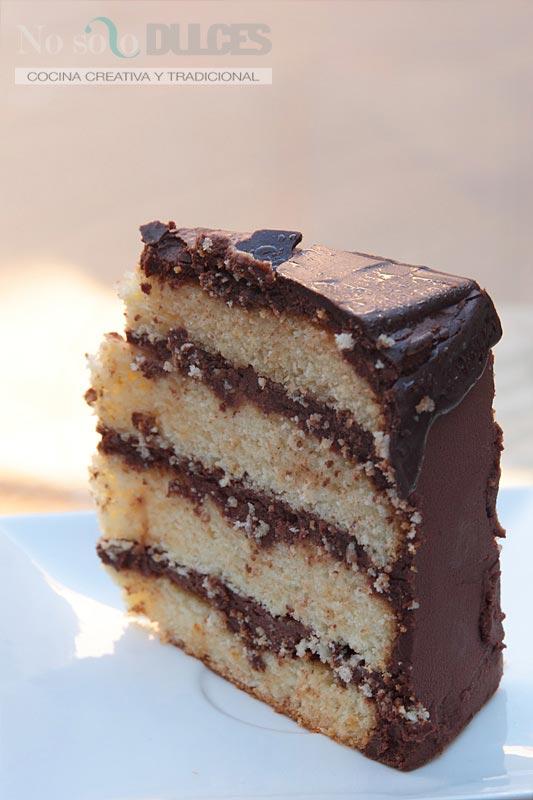 No solo dulces – Tarta de chocolate