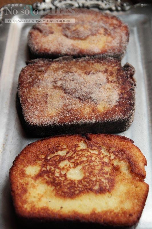 No solo dulces – Torrijas rellenas de crema