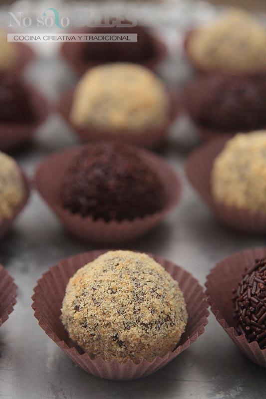 No solo dulces – Trufas de chocolate