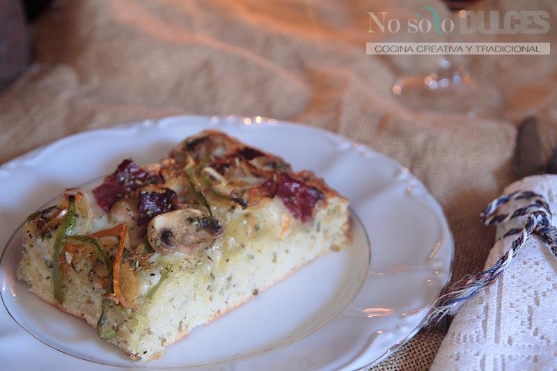 No solo dulces - Focaccia pizza italiana