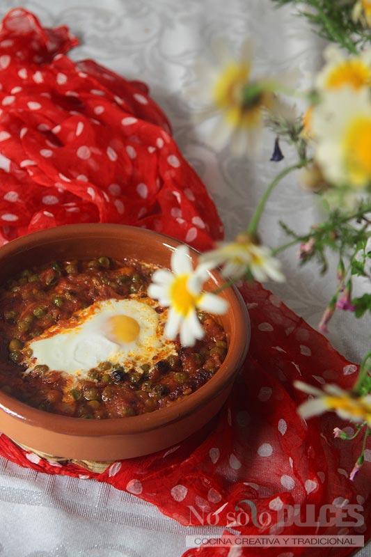 Huevos a la flamenca (y olé que ya estamos en la Feria de abril)