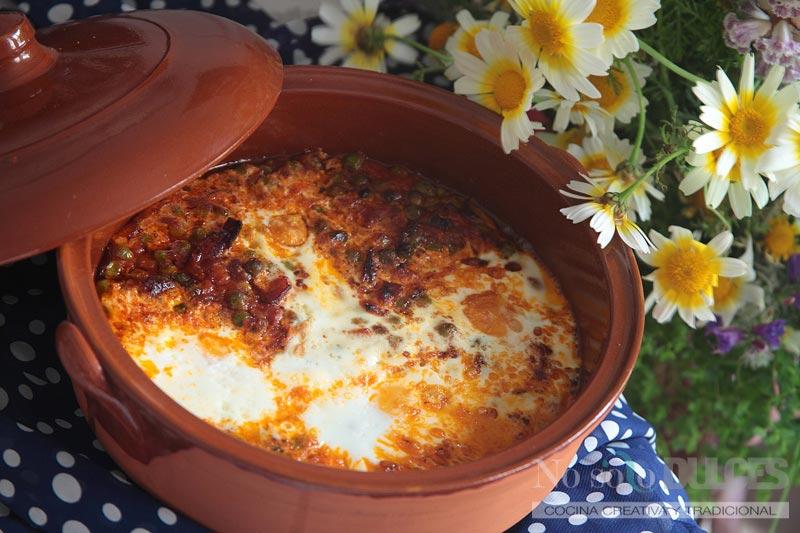 No solo dulces - Huevos a la flamenca Feria de sevilla