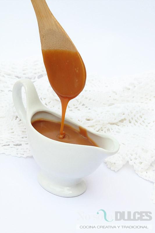 Salsa de caramelo o toffee salado (o el mayor pecado-receta jamás contado)
