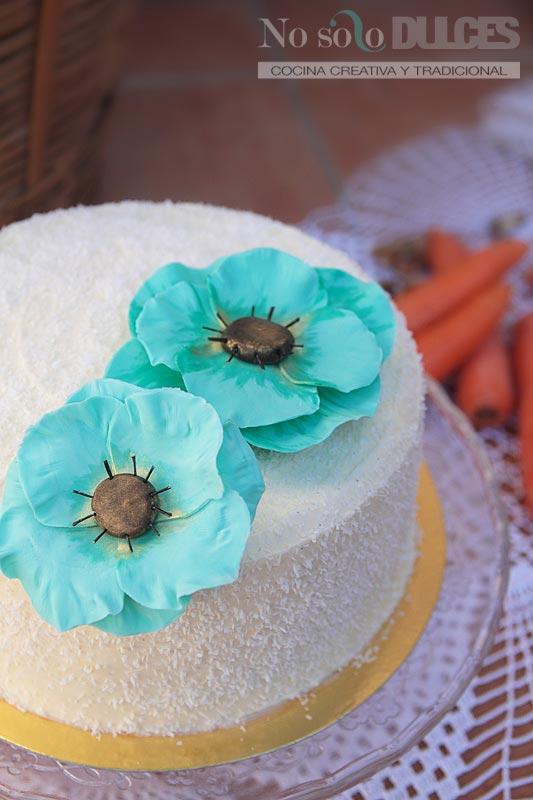 Tarta de zanahoria – Carrot cake (con crema de queso y vanilla)