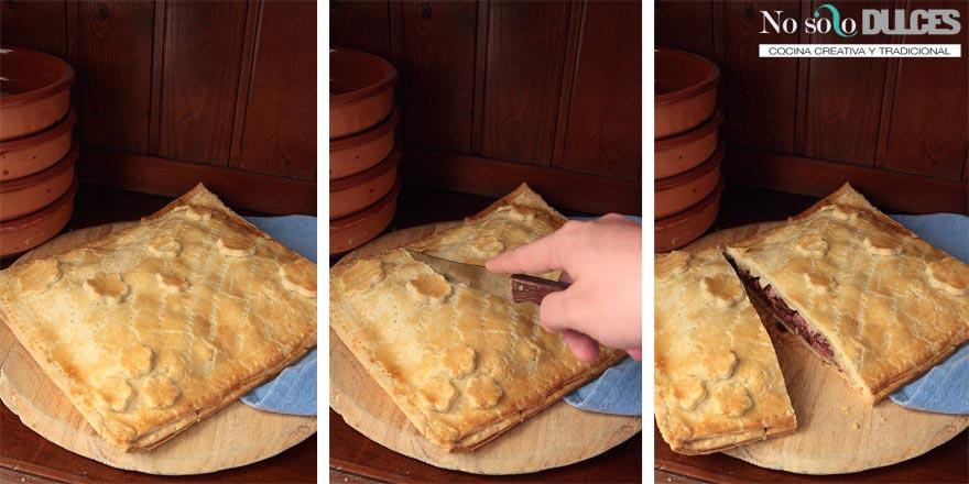 No solo dulces – Empanada de dátiles, bacon y queso