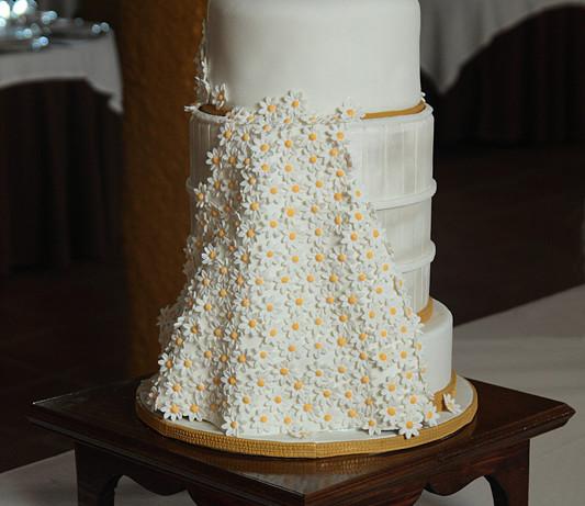 La tarta de las 300 margaritas (Tarta de boda)