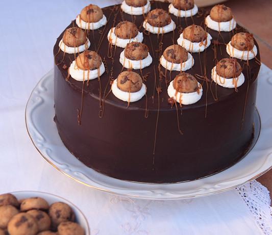Tarta de cookies & dulce de leche cream (¡Y ganador del concurso!)