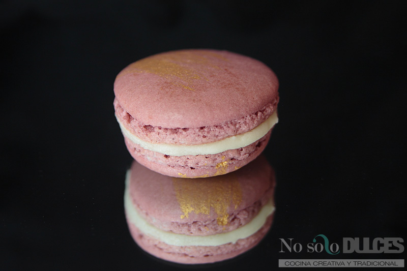 No solo dulces macarons perfectos chocolate leche dulce