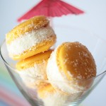 No solo dulces - Macarons tropicales piña colada
