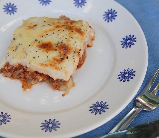 Musaca griega (Y que hacer cuando tienes más de lo que puedes cocinar)
