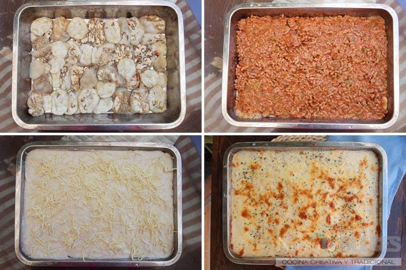 No solo dulces musaca moussaka griega receta