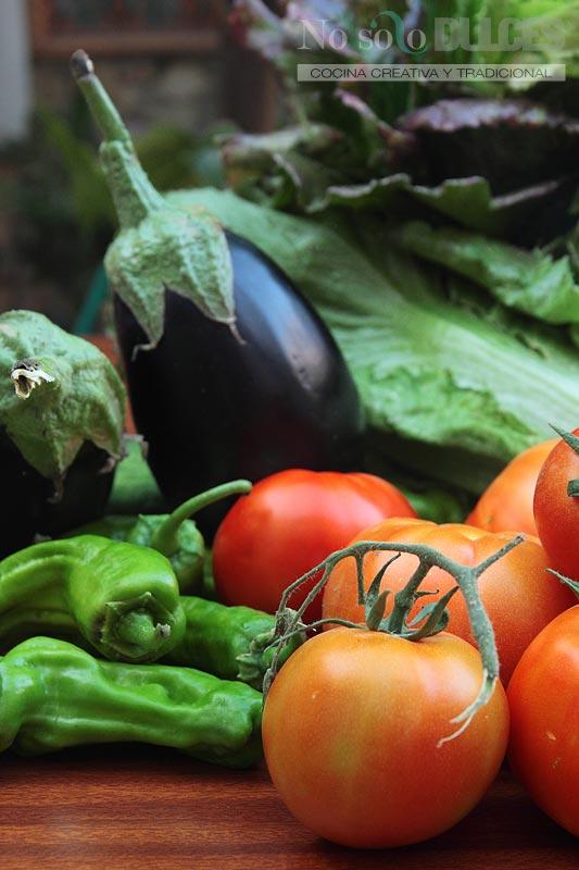 No solo dulces Verduras tomates ecologicos dieta perfecta