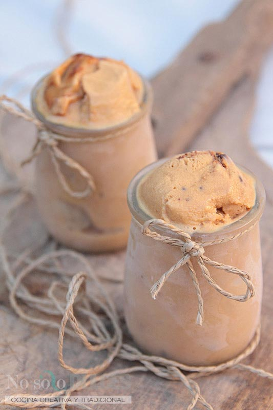 No solo dulces helado dulce de leche cookies