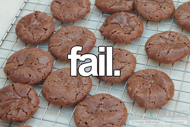 No solo dulces - Helado almendrado de macarons de chocolate