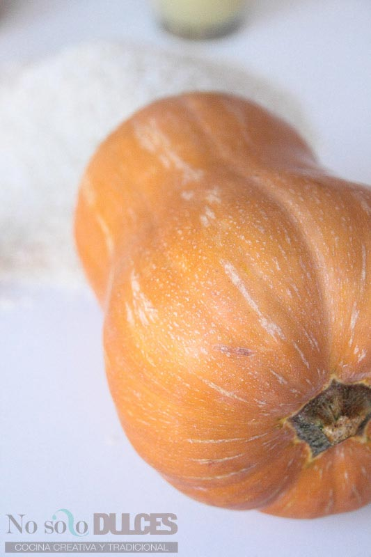 No solo dulces Risotto de calabaza Receta de halloween