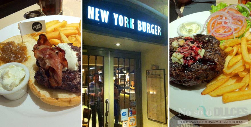 No solo dulces - New York Burguer Madrid