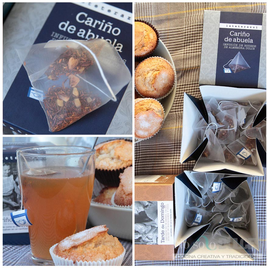 No solo dulces - Magdalenas caseras especiadas