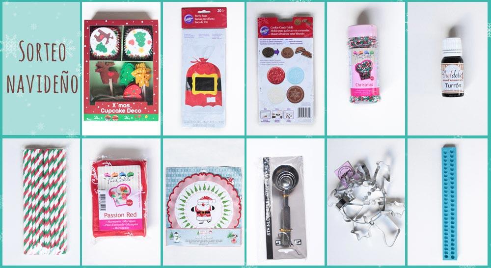 No solo dulces- Sorteo Navidad Facebook