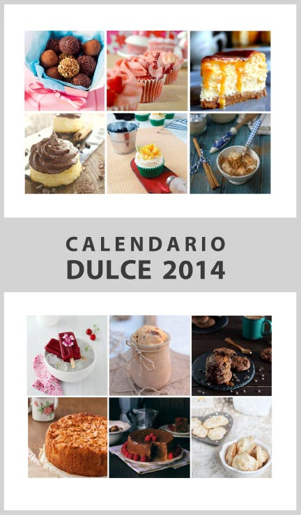 Calendario dulce 2014
