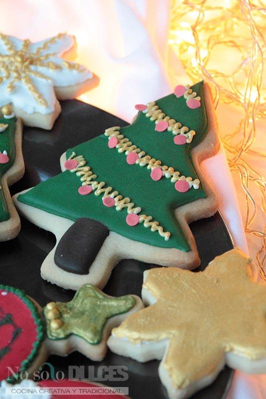 No solo dulces - Galletas de mantequilla de navidad