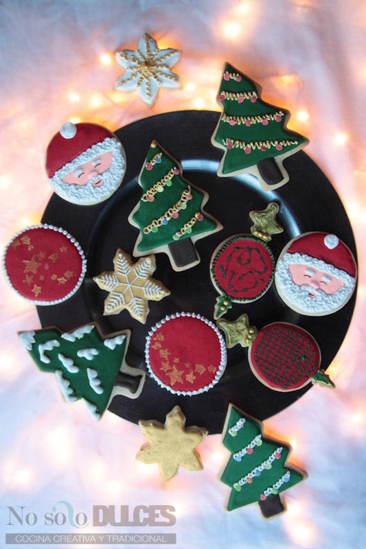 No solo dulces – Galletas de mantequilla de navidad