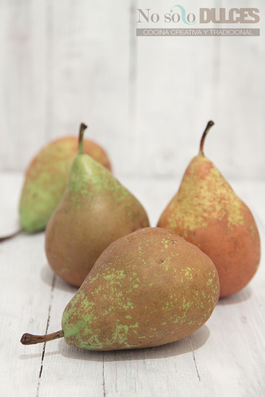No solo dulces - Pastel de peras al vino Pedro Ximenez