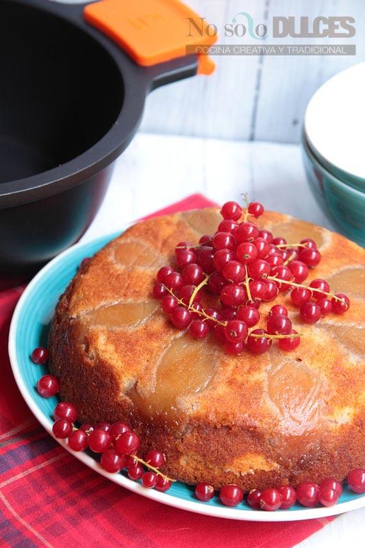 No solo dulces – Pastel de peras al vino Pedro Ximenez Menaje de cocina Bra