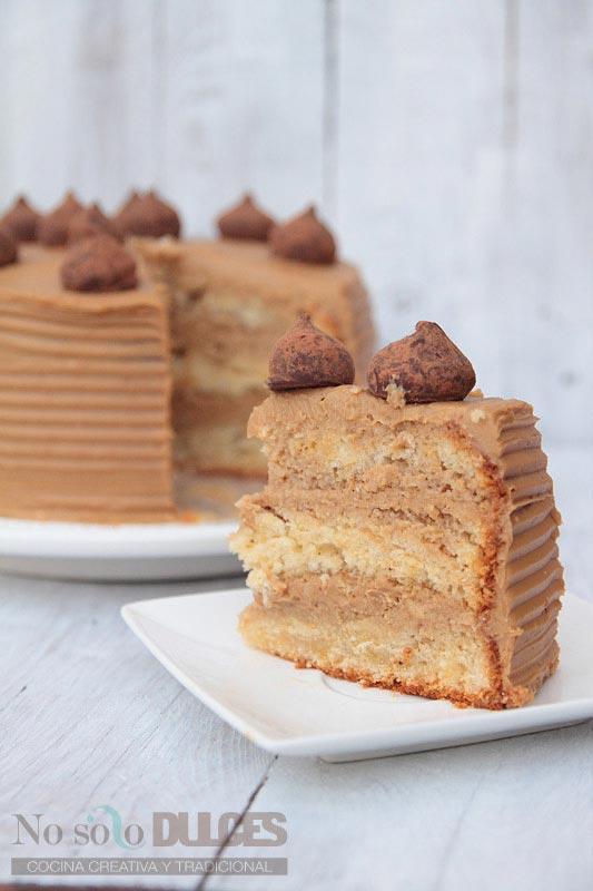 No solo dulces - tarta de café con leche