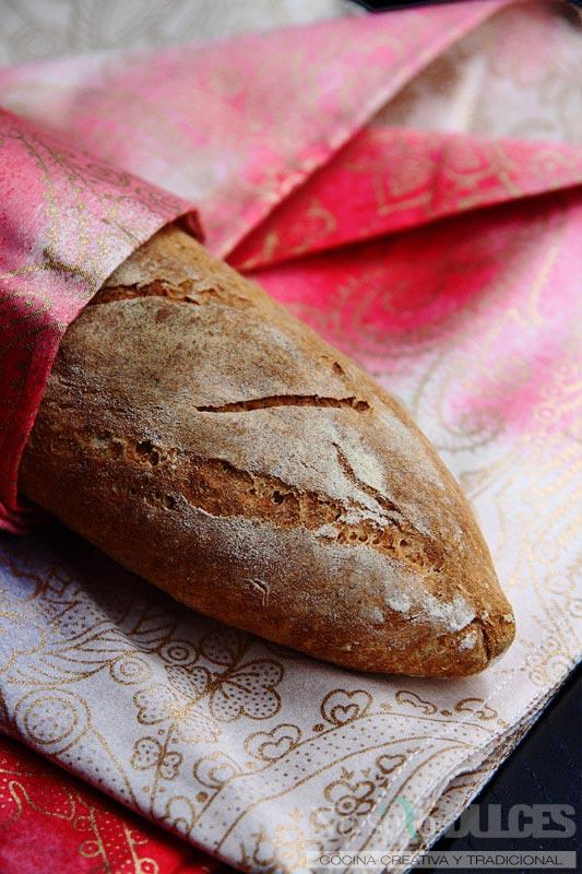 No solo dulces - Pan rústico de centeno fácil