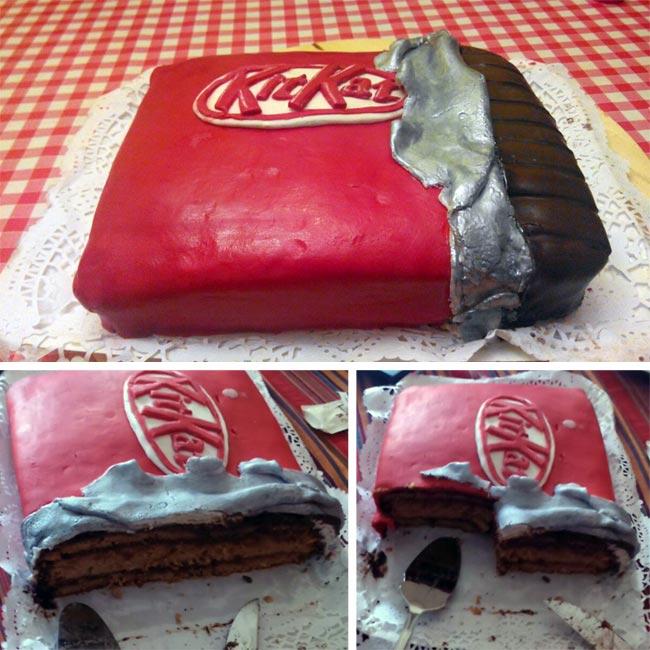 No solo dulces – Recetas Lectores Tarta chocolate galletas Kitkat