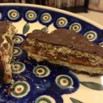 Alfajores argentinos con chocolate bitter