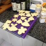 Galletas de mantequilla decoradas para Navidad