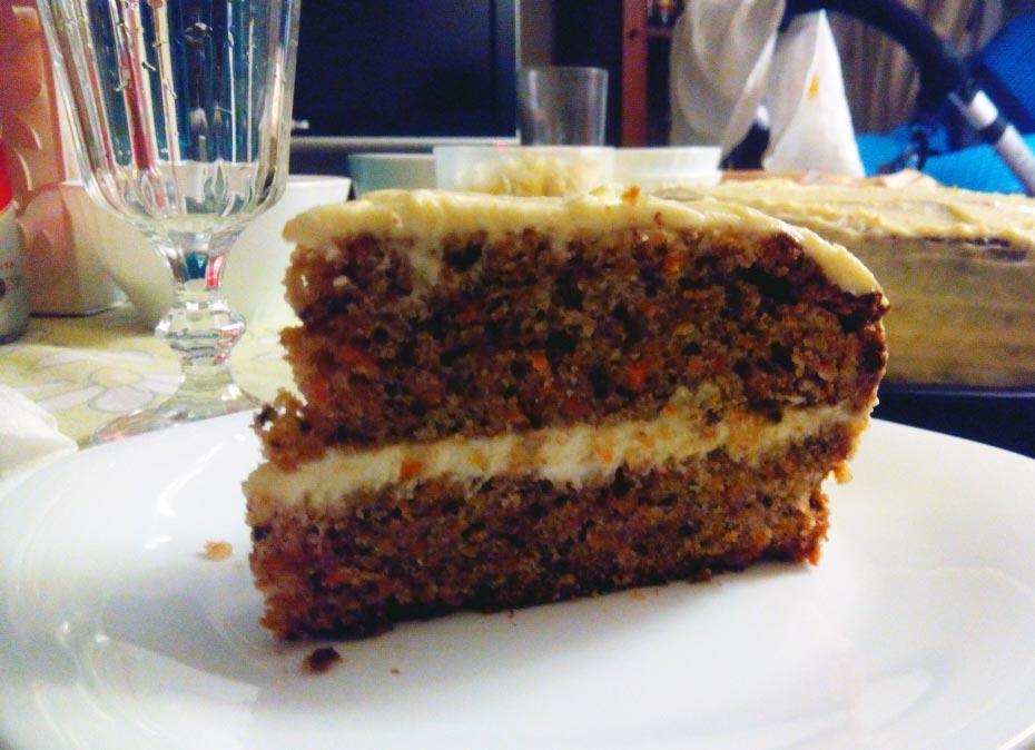 Tarta de zanahoria – Carrot cake