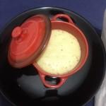 Soufflé de queso especiado