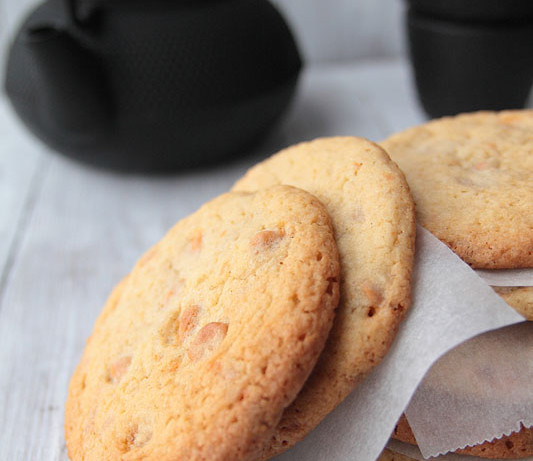 Galletas chip de toffee (Butterscotch-chip cookies)