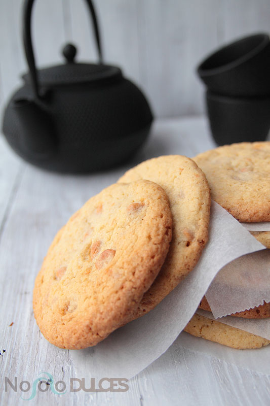 No solo dulces – Galletas toffe butterscotch chip cookies