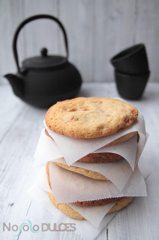 No solo dulces – Galletas toffe butterscotch chip cookies