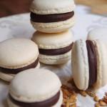 No solo dulces - Macarons de chocolate picante y pipas caramelizadas