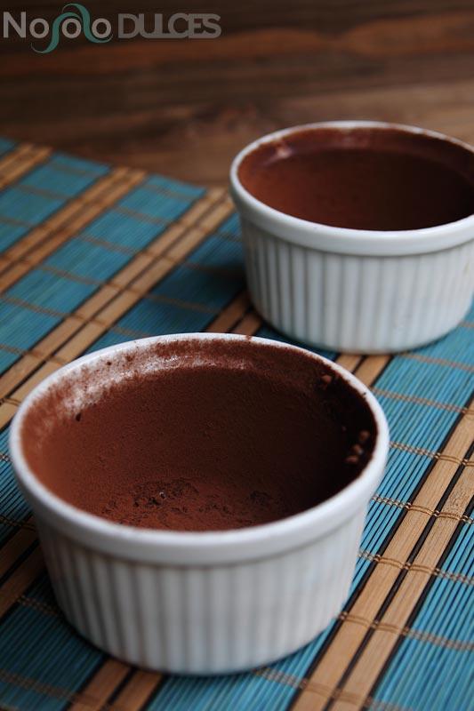 No solo dulces – Soufflé Nocilla y helado