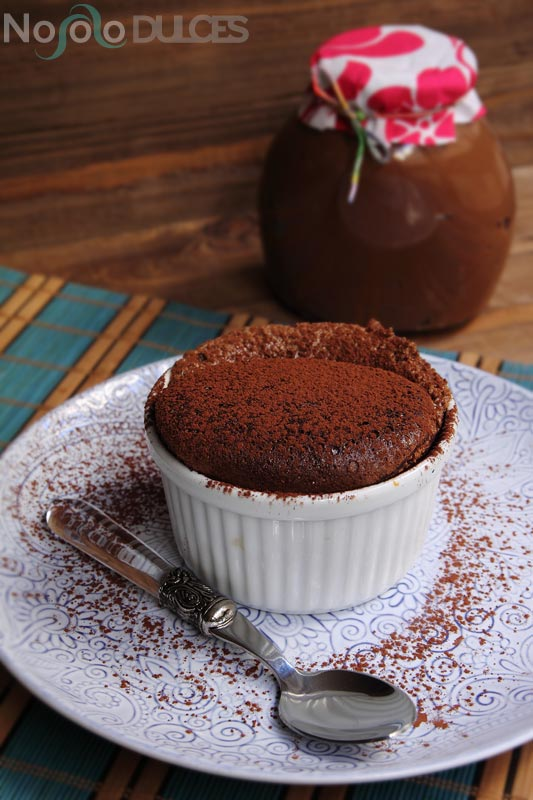 Receta de soufflé de Nocilla – Nutella y helado