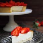 No solo dulces Tarta de fresas y queso mascarpone
