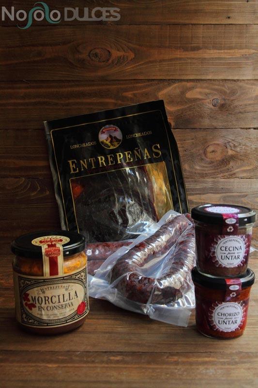No solo dulces – Embutidos Entrepeñas cecina de León