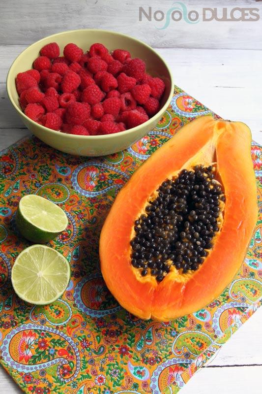 nosolodulces-smoothie-batido-papaya-frambuesa-lima-2